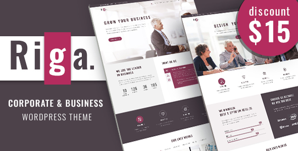 Corporate Business | Riga Business WordPress