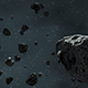 Asteroid Field Fly Through - VideoHive Item for Sale