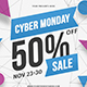 Cyber Monday Instagram Cover