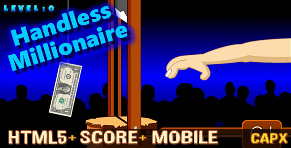 Handless Millionaire (.CAPX) New! - CodeCanyon Item for Sale