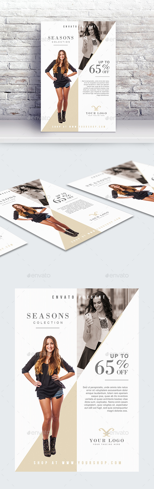 GraphicRiver Fashion Sale Flyer Template 21020903