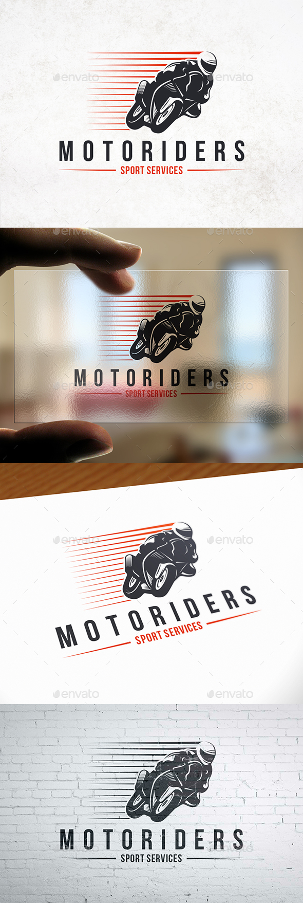 GraphicRiver Speed Moto Logo Template 21044709