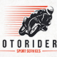 Speed Moto Logo Template