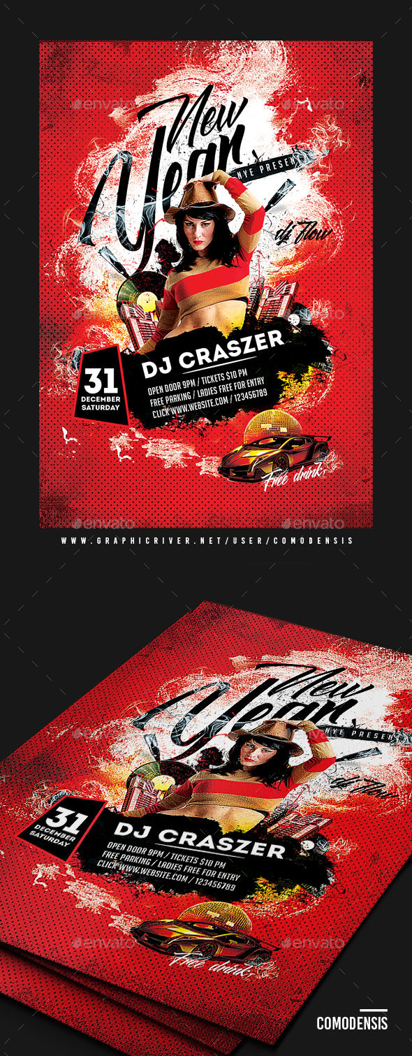 DJ Club Flyer - Clubs & Parties Events