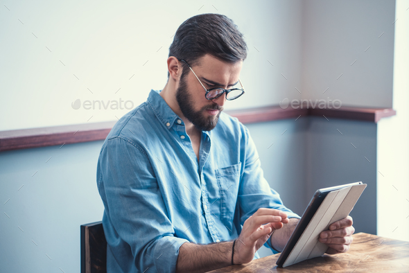 Young customer - Stock Photo - Images