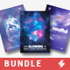 Progressive Sound vol.9 - Party Flyer / Poster Templates Bundle