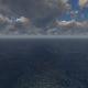 Rain Clouds Ocean - VideoHive Item for Sale