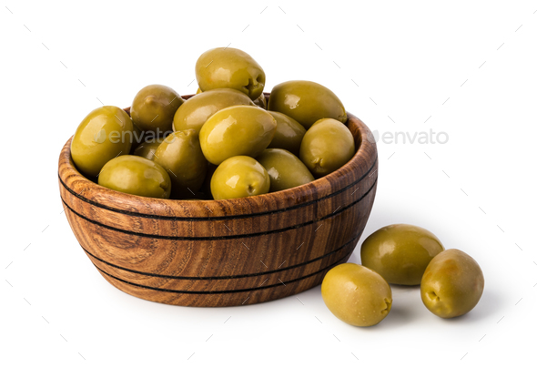 green olives - Stock Photo - Images