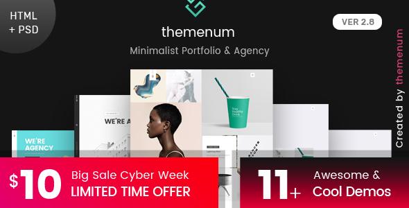 Download Free Portfolio HTML Template- themenum