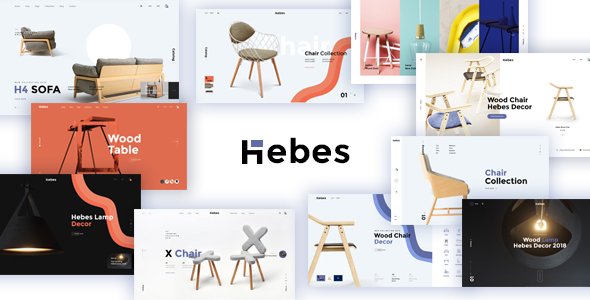 HEBES - Multipurpose Ecommerce PSD Template - Shopping Retail
