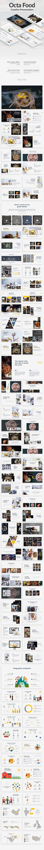 GraphicRiver Octa Food Google Slide Template 21046106