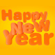 Happy New Year Text - VideoHive Item for Sale