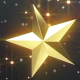 Falling Golden Stars - VideoHive Item for Sale