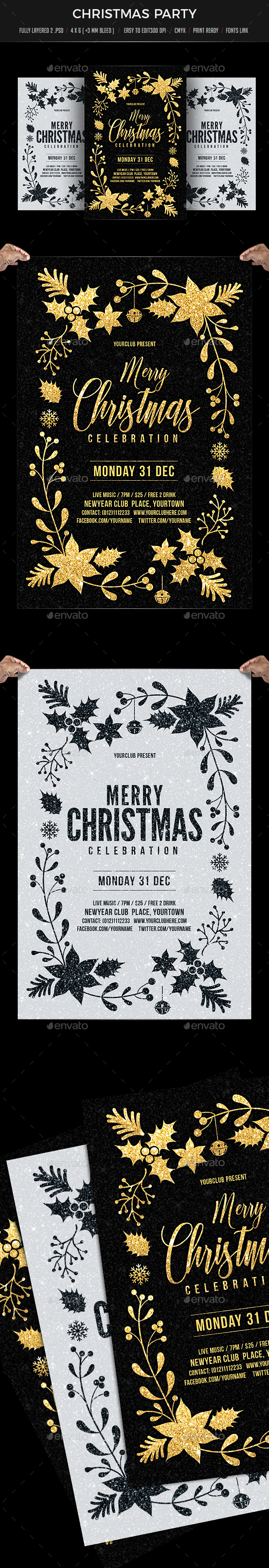 GraphicRiver Christmas Celebration 21046444
