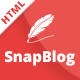 Snap Blog - A Simple & Clean Responsive HTML Blog Template