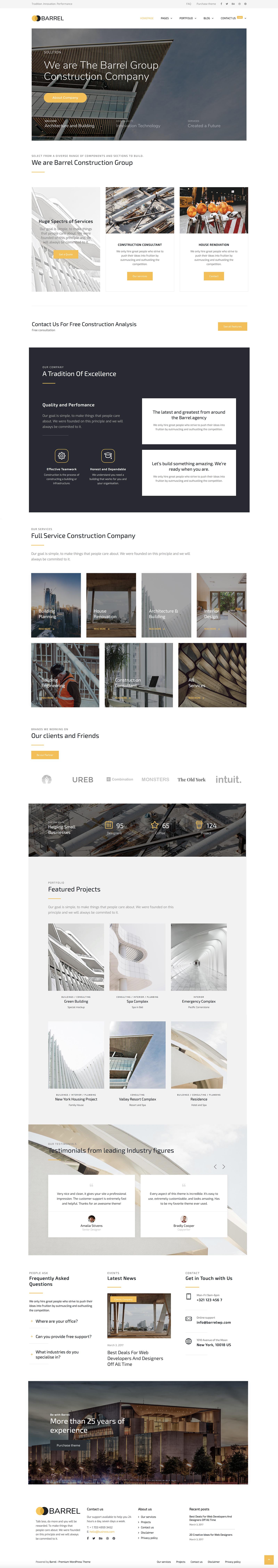 Barrel - Creative Responsive Multi-Purpose WordPress Theme by dedalx