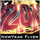 Stacked New Year Flyer - GraphicRiver Item for Sale