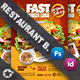 Restaurant Bundle Templates - GraphicRiver Item for Sale