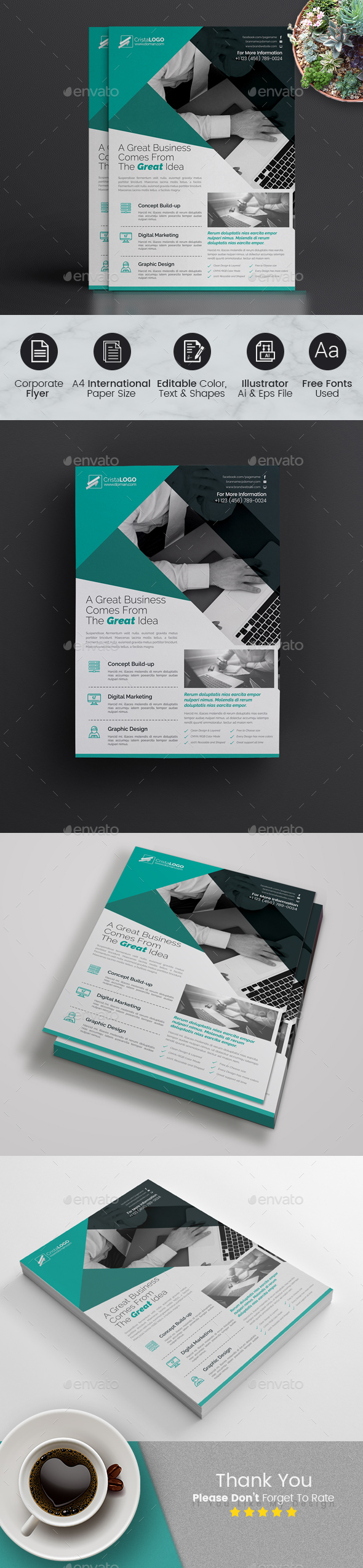 GraphicRiver Creative Flyer-Multipurpose 21046805