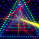 Triangular LEDs Tunnel VJ Loop - VideoHive Item for Sale