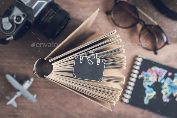 Traveler's accessories and items - Stock Photo - Images