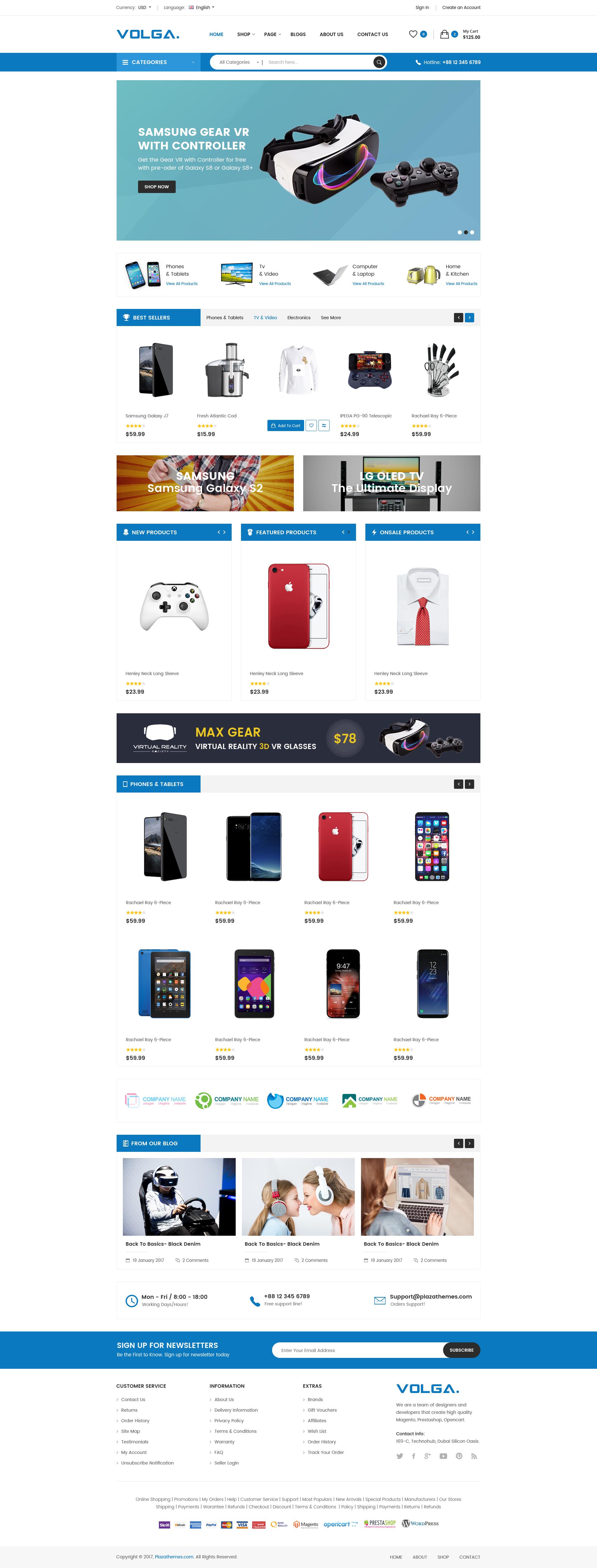volga megashop responsive shopify theme technology electronics