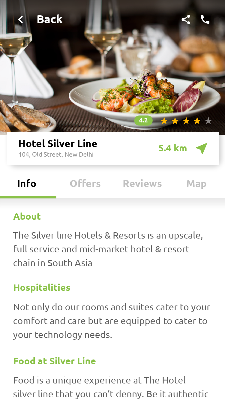 Place Finder Like Restaurant Service Finder Android App Template