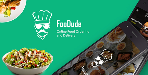 CodeCanyon Food Ordering & Delivery Android App FooDude 21047505
