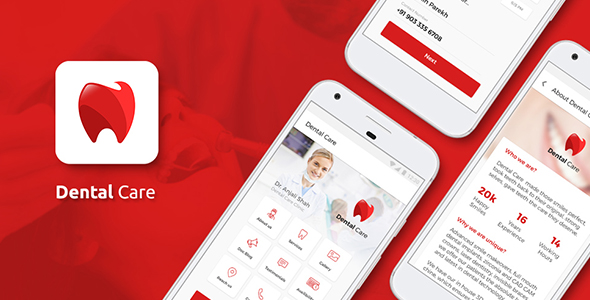CodeCanyon Dentist and other Doctors Appointment IONIC 3 App 21047667