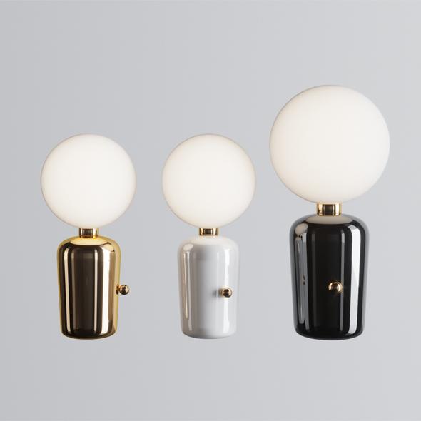 3DOcean Parachilna Aballs M Gr Table Lamp 21047792