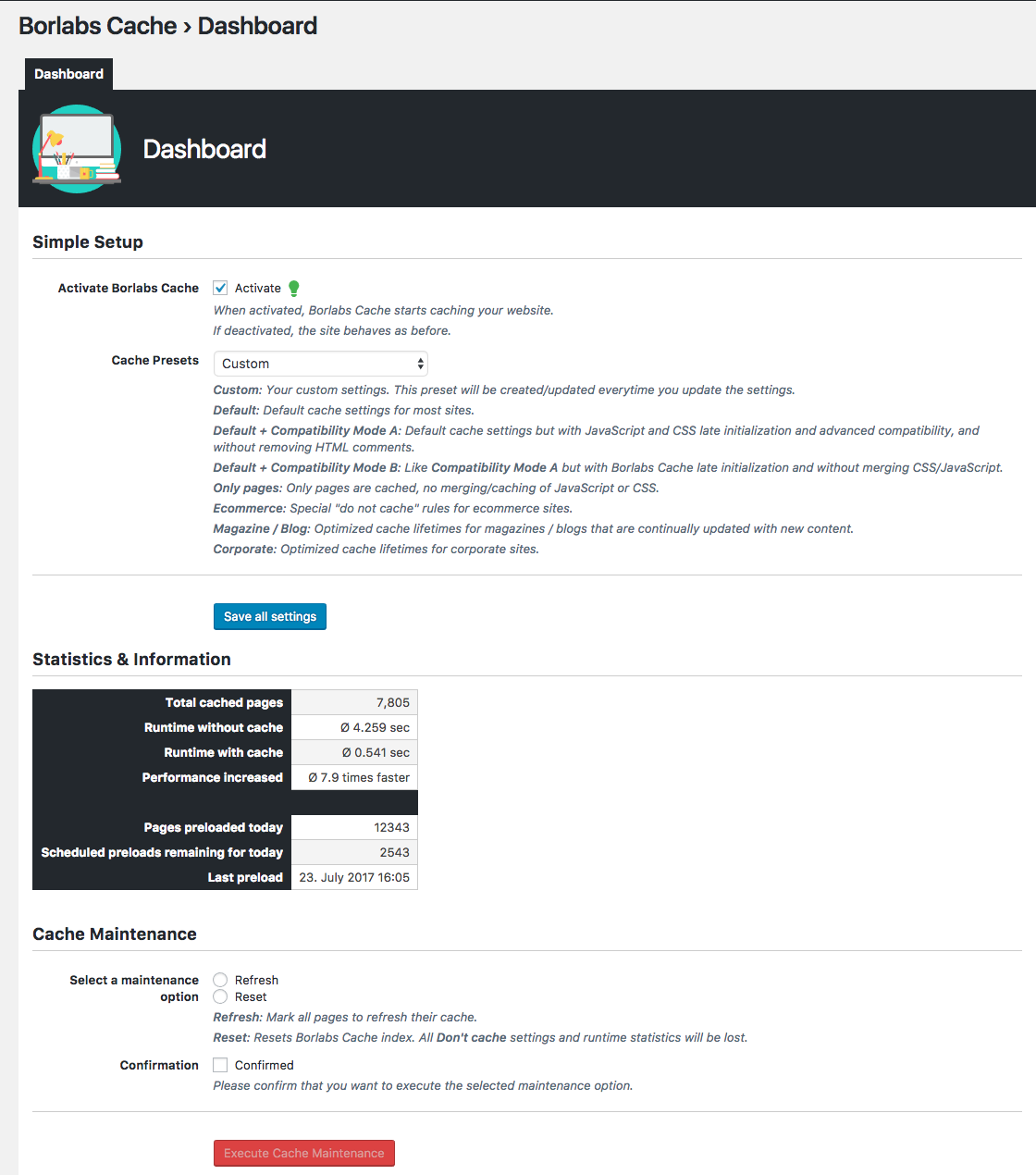 Borlabs Cache - WordPress Caching Plugin