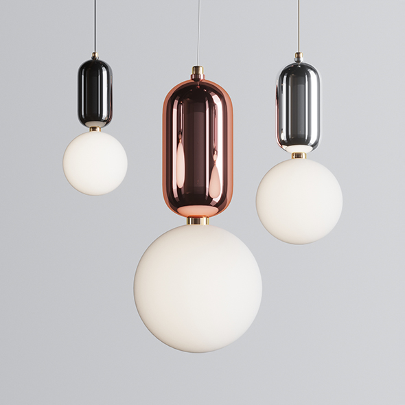 Parachilna Aballs T ME Suspension Lamp - 3DOcean Item for Sale