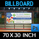 Pharmacy Billboard Template Vol.3 - GraphicRiver Item for Sale