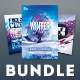 Winter Flyer Bundle Vol.02 - GraphicRiver Item for Sale