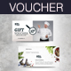 Sea Food Gift Voucher - GraphicRiver Item for Sale