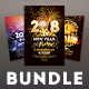 New Year Flyer Bundle Vol.09 - GraphicRiver Item for Sale