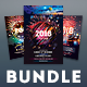 New Year Flyer Bundle Vol.10 - GraphicRiver Item for Sale