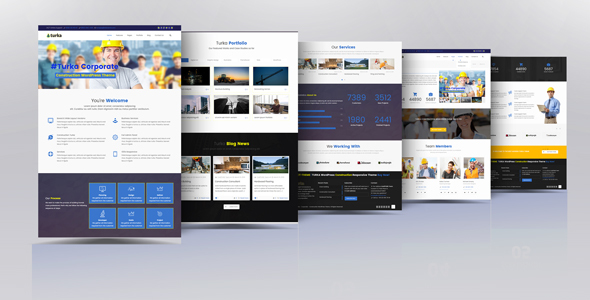 Turka - Multi-Purpose WordPress Theme