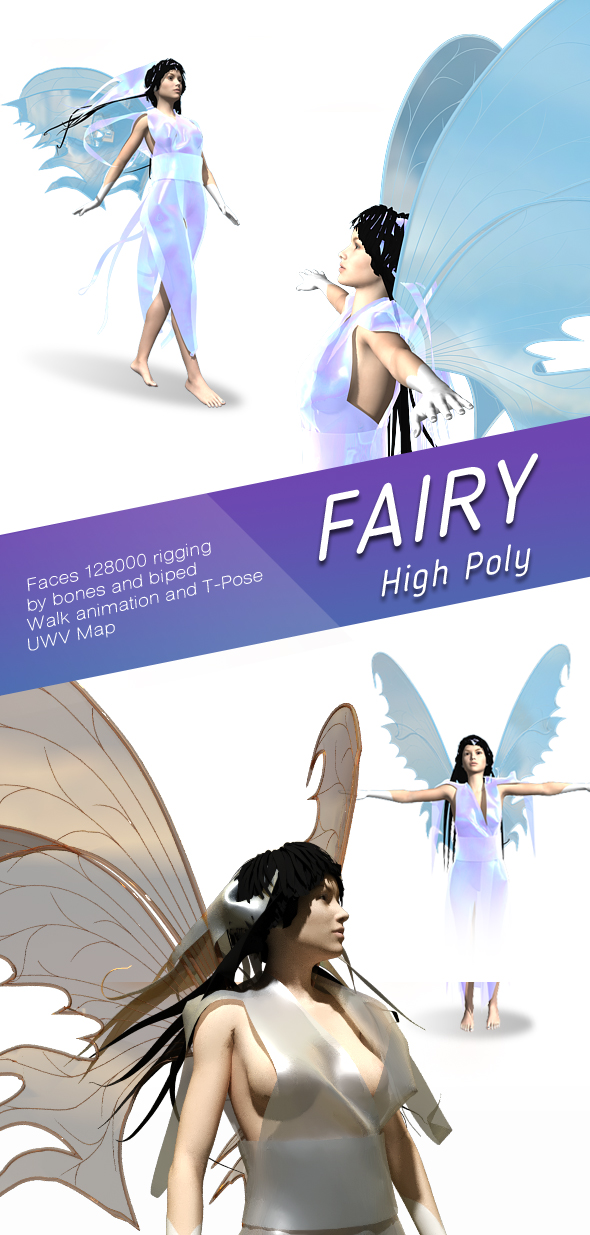 Fairy - 3DOcean Item for Sale