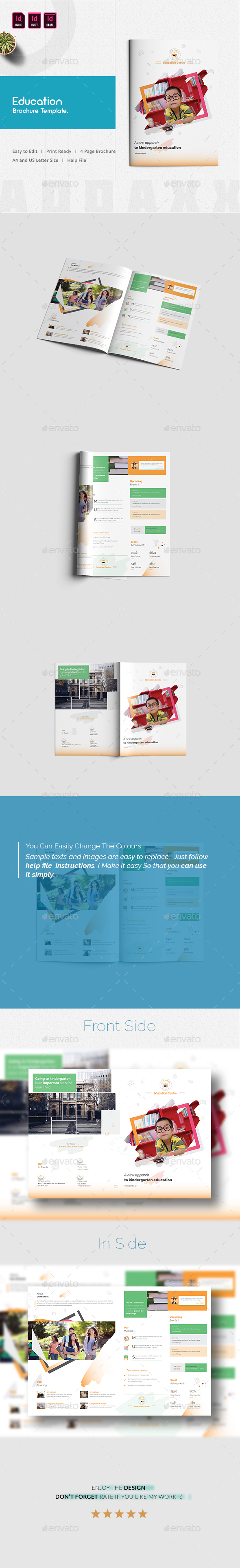 GraphicRiver Education Brochure Template 21048432