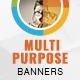 Multipurpose Banner Set