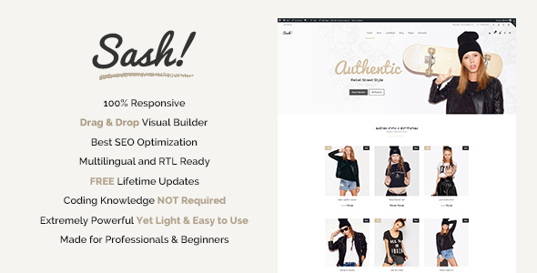 Image of Sash - Fashion WooCommerce theme