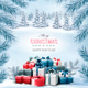 Christmas Holiday Background and Presents - GraphicRiver Item for Sale