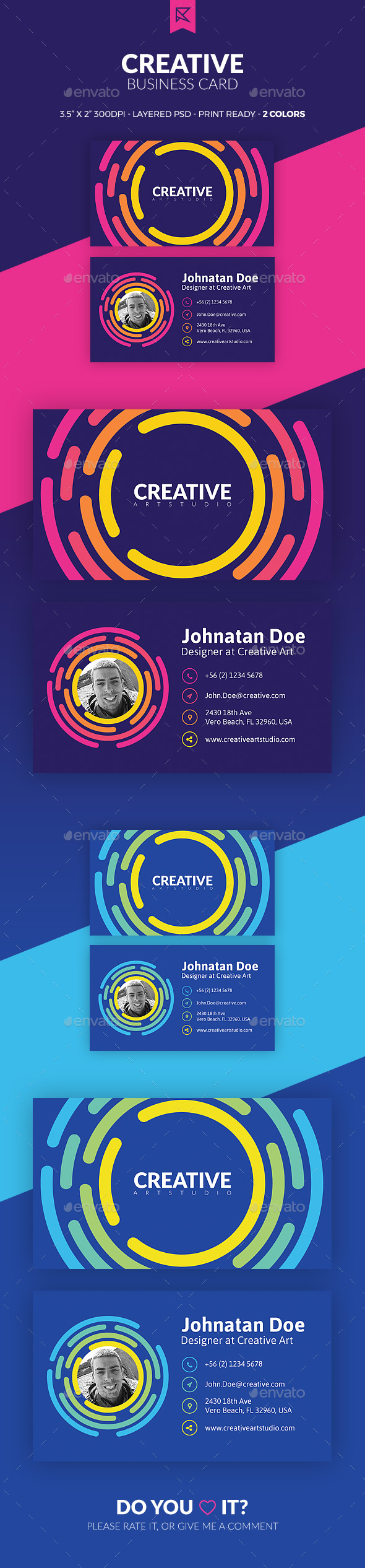GraphicRiver Creative Business Card 21048953