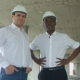 Architectural Team Smiling at the Camera with Hard Hats - VideoHive Item for Sale