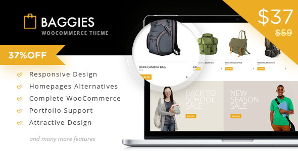 Baggies WooCommerce Marketplace Themes