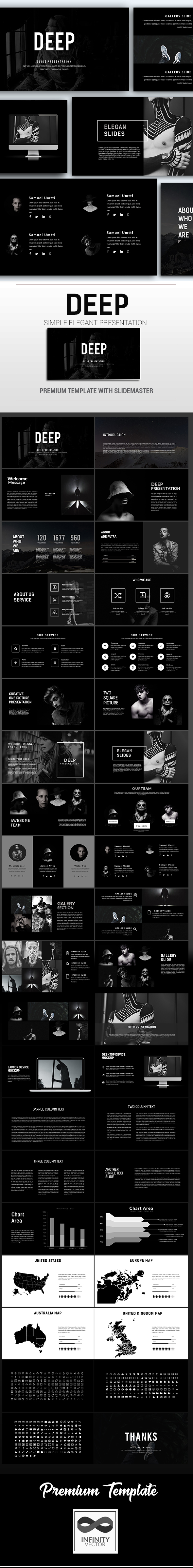 GraphicRiver Deep Multipurpose Presentation Keynote 21049066