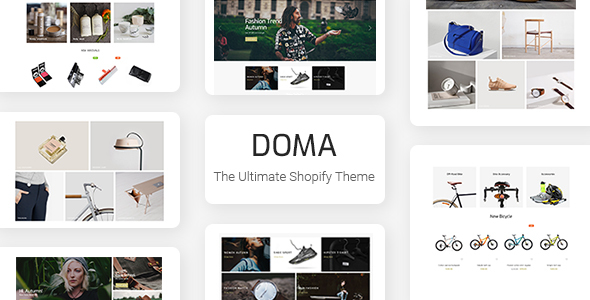 Doma - Ultimate Multi Language Shopify Theme Section Ready - Fashion Shopify