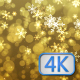 Gold Festive Christmas Background - VideoHive Item for Sale