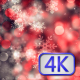 Christmas Background With Snowflakes - VideoHive Item for Sale